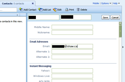 how to send email to all contacts in yahoo mail