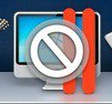 Incompatible software icon