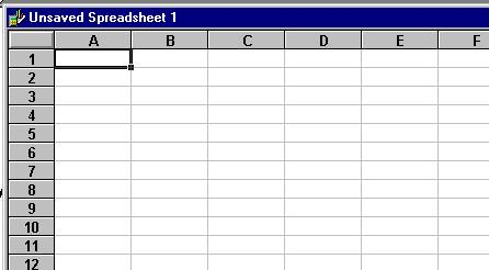 spreadsheet introduction using microsoft works. Black Bedroom Furniture Sets. Home Design Ideas