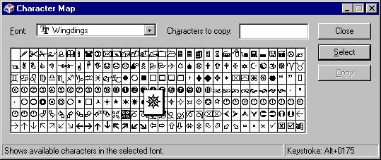 Harveyballspowerpointjpg Sample Wingdings Chart Wingdings